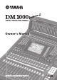 Yamaha 006IPTO-F0 Owner's Manual