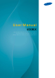 Samsung 400BX User Manual