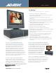American Dynamics Intellex Intellex DVMS Datasheet