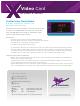 Apogee X-Video Datasheet