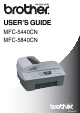 Brother MFC-5440CN User Manual