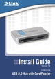 D-link DUB-CR200 Install Manual
