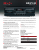 Denon DRW-585 Specifications