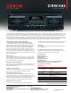Denon DRW-585 Specifications