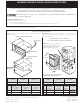 Frigidaire PLEW30S3DCA Installation Instructions Manual