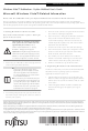 Fujitsu Lifebook C1410 Supplementary Manual