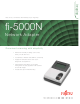Fujitsu FI-5000N Technical Specifications