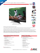 Mitsubishi LT-46149 Specification Sheet