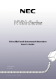NEC 17600SUG05 User Manual