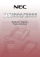 NEC DS1000 Feature Handbook