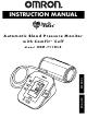 Omron HEM-711DLX Instruction Manual