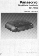 Panasonic RC-6099 Operating Instructions Manual