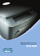 Samsung Laser MFP SCX-4100 User's Manual