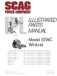 Scag Power Equipment STWC WILDCAT SMTC-48V User Manual