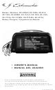 Schumacher SE-1010-2 Owner's Manual