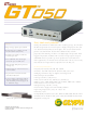 Glyph GT0501F-120 Technical Specifications