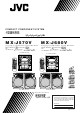 JVC SP-MXJ570VUS Instructions Manual