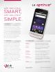 LG Optimus M Specifications