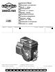 briggs and stratton intek repair manual pdf