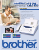 Brother IntelliFAX 1270e Specification Sheet