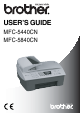 Brother MFC MFC-5440CN User Manual