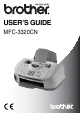 Brother MFC-3320CN User Manual