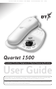 BT 1500 User Manual