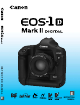 Canon EOS-1D Mark II Digial Instruction Manual
