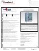 Cleveland OEB-20.20 Specification Sheet