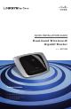 Linksys WRT320N Quick Installation Manual