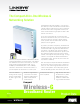 Linksys WRT54GC Brochure