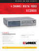 Lorex L154-81 Specifications