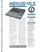 Mackie 1402 VLZ Brochure