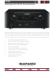 Marantz SR4003 Specification Sheet