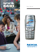 Nokia 6610 User Manual