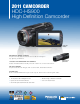 Panasonic HDC-HS900 Specification Sheet