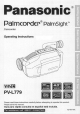 Panasonic Palmcorder PV-L779 User Manual