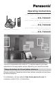 Panasonic KX-TG5431S Operating Instructions Manual