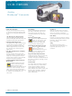 Sony Handycam CCD-TRV108 Specification Sheet