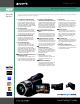 Sony Handycam HDR-HC1 Brochure