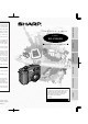 Sharp VE-CG40U Operation Manual
