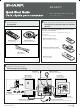 Sharp CDES777 Quick Start Manual