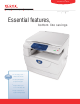 Xerox WorkCentre 5020 Specifications