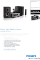 PHILIPS Harmony DCB7005 Brochure