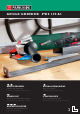 PARKSIDE PWS 125 A1 ANGLE GRINDER Operation And Safety Notes