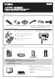 Yamaha HTR-5063 Quick Reference Manual