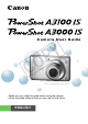 Canon PowerShot A3000 IS User Manual