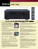 Denon AVR-1804 Specification Sheet