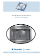 Electrolux ICON E24CM76GSS Installation Instructions Manual