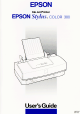 Epson COLOR 300 User Manual
